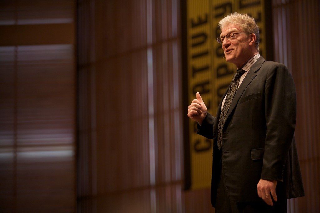 This image has an empty alt attribute; its file name is sir_ken_robinson.creativityinclassrooms.jpg